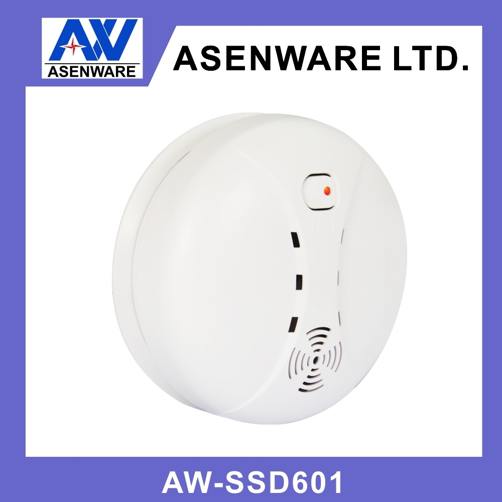 9v battery wireless type smoke detector view battery operated smoke detector asenware product. Black Bedroom Furniture Sets. Home Design Ideas