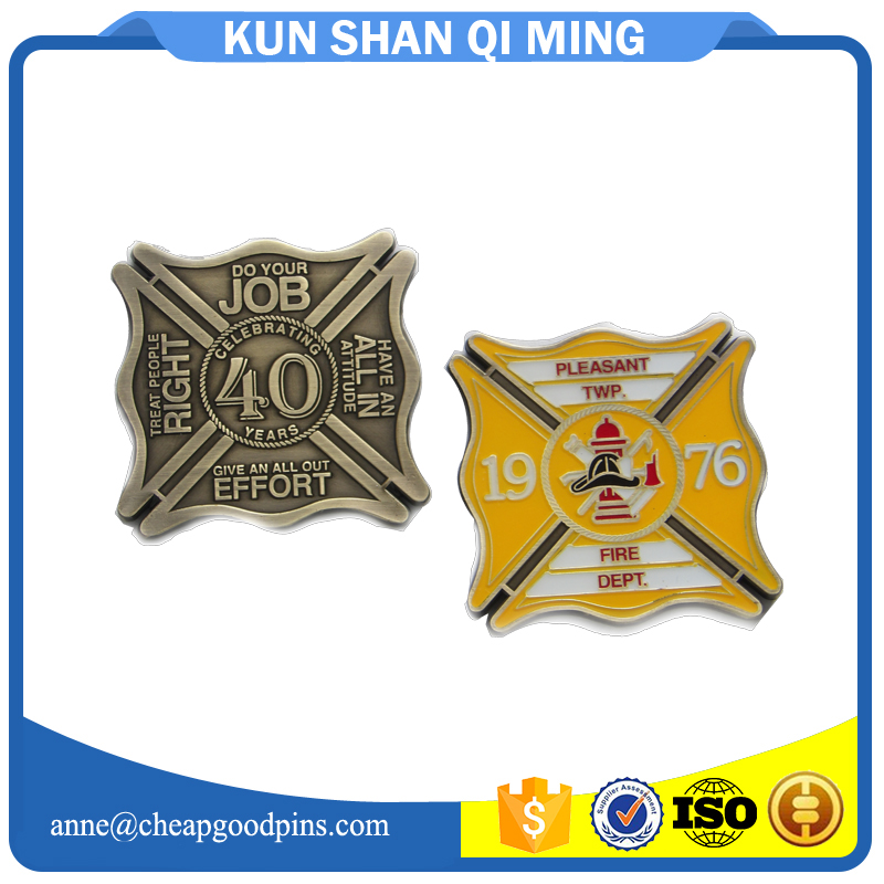 cheap challenge coins from China no moq free sample artwork available