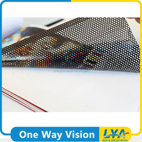 China manufacturer promotional printed one way vision plastic film