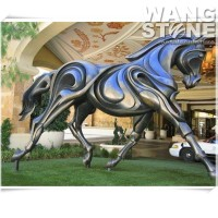 Metal Animal Statue Large Bronze Horse Sculpture