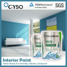 Water Based interior latex paint