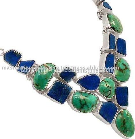 Beautiful Design Blue Lapis 925 Sterling Silver Pendant, Silver Jewelry, Indian Silver Jewelry Supplier