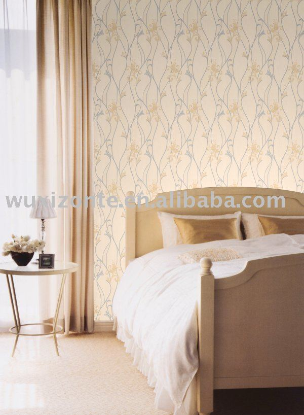 No tejido con textura moderno revestimiento de paredes - Recubrimiento para paredes ...