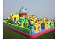 New Inflatable Bouncy Fun City and Inflatable Bouncy Jumping Castle for Amusement Park