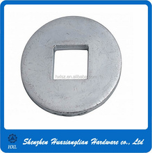 Factory made steel square hole carriage bolt washer with good quality
