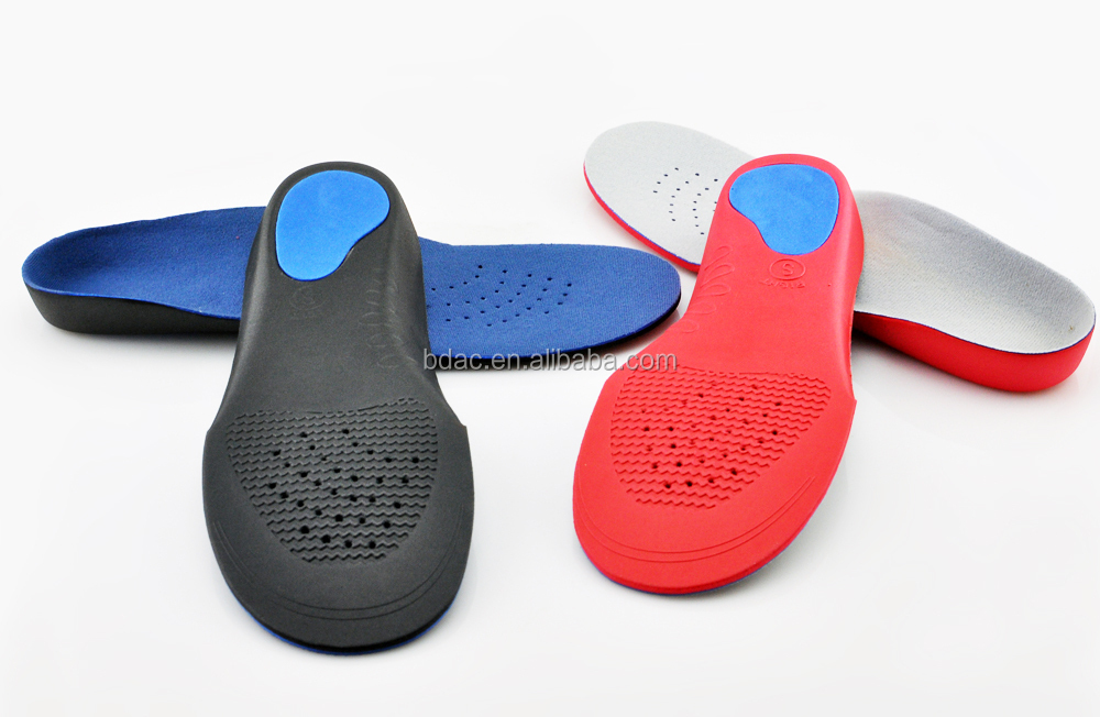 full length hard EVA orthotics arch support flat foot insole for kid
