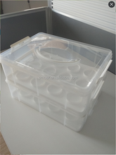 Cupcake Holder Box With Handle Cupcake Cake Carrier