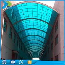 China goods import polycarbonate hollow sheet carport solar panel green house