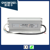 80w swithing power supply ,LED waterproof electronic driver in 12v 80w with ce