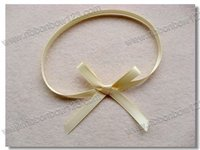 Multifunctional 2015 Latest Pre Made Mini Satin Ribbon Bows with CE certificate