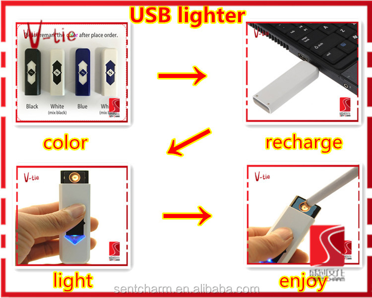 Unique Business Ideas Daliy Use Items USB Cigarette Lighter Cigar Lighter for Wholesale
