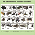 skid steer loader attachments,skid loader attachments