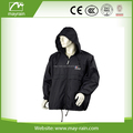 cheap man polyester rain jacket
