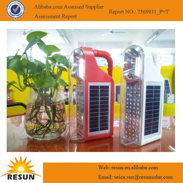 Mini portable solar lamp manufacturer from China factory