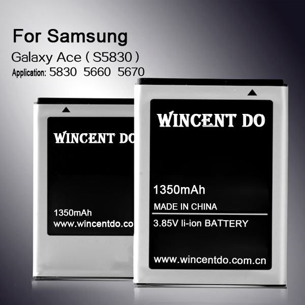 Good quality factory battry for Samsung S5360 S5380