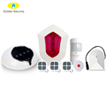 IP cloud wireless WIFI/GSM alarm system with GPRS network,support ifttt and scene settings,work with 100 smart sockets