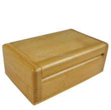 High Quality Handmade wooden namecards Box /wooden cigar box