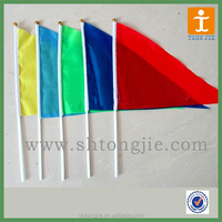 TJ--XI-895 Factory price Promotion polyester custom printed car flag custom car flag