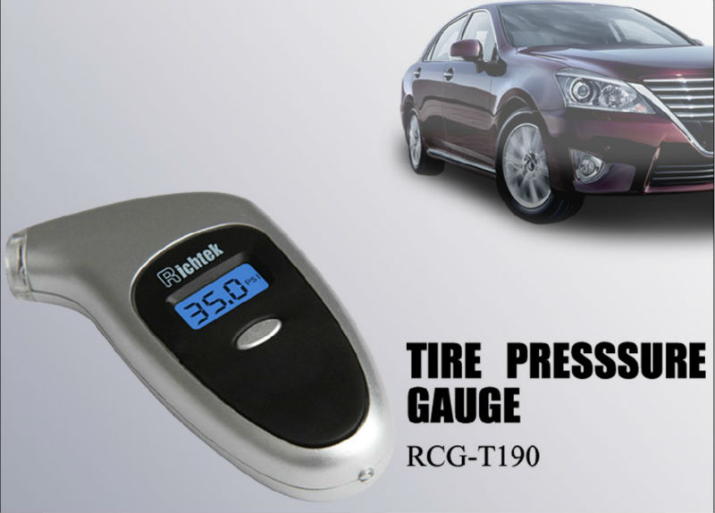 Dongguan Richtek High Quality Multifunctional Hot Sale Tire Pressure Measure Gauge Price
