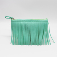 Hot selling tassels clutch bag,leather clutch bag,women clutch bag