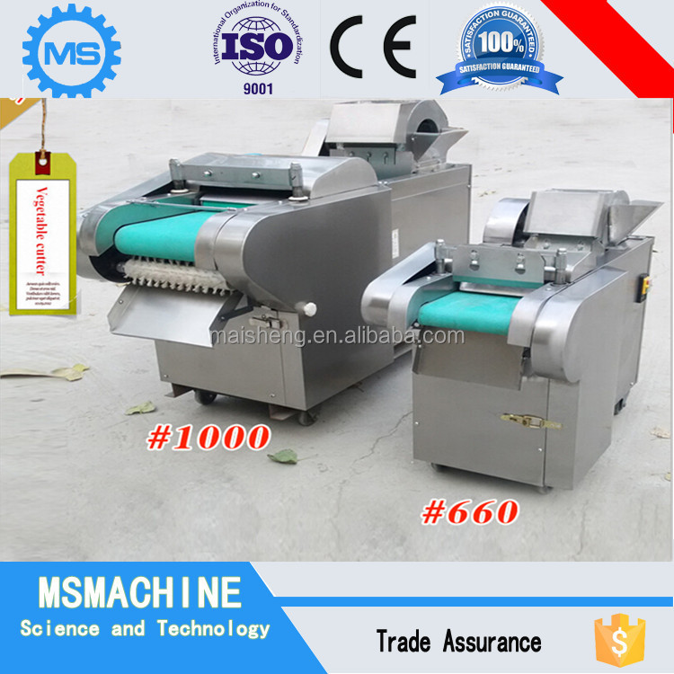 Mobile type fruit and vegetable cutting machine