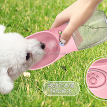 popular outdoor portable drinking bottle for pet dog