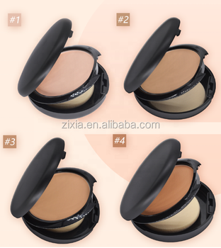 OEM Waterproof Matte Pressed Powder Compact Face Concealer Cosmetic Makeup Powder Foundation