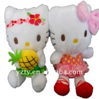 factory supply newest hello kitty plush and stuffed hello kitty toy