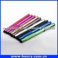 For smartphone Metal capacitive touch stylus/metal touch screen stylus pen/ stylus for ipad