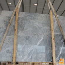 China Silver Marten Grey Natural Marble Slab