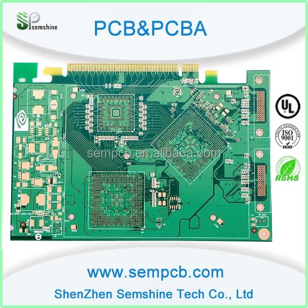 low price and high accurate printed circuit board for 5 micro sd card