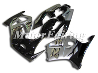 New Fairing for HONDA CBR250RR MC19 1989 1990 CBR250 89 90 CBR 250RR Body Kits Press Mold ABS Plastic Silver Black