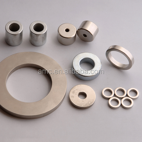 High Quality Customized ring bonded industrial permanent magnets ndfeb of and disc neodymium circular