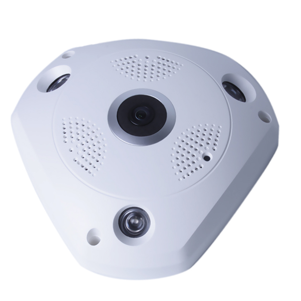 2016 Wireless Fisheye Panoramic IP 1.3mp/3mp CCTV Security 3D VR 3d vr camera