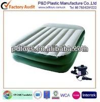 Queen size inflatable rasied air mattress,pvc air mattress