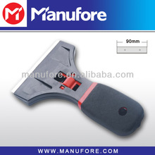 90mm plastic scraper, floor window glass cleaning tool