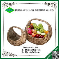Handmade sets gift decorative willow baskets