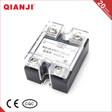 QIANJI High Quality Ssr-40DA 40A 3-32VDC Solid State Relay SSR