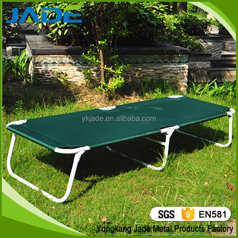 Online shop china Metal bed, outdoor folding bed/ camping bed