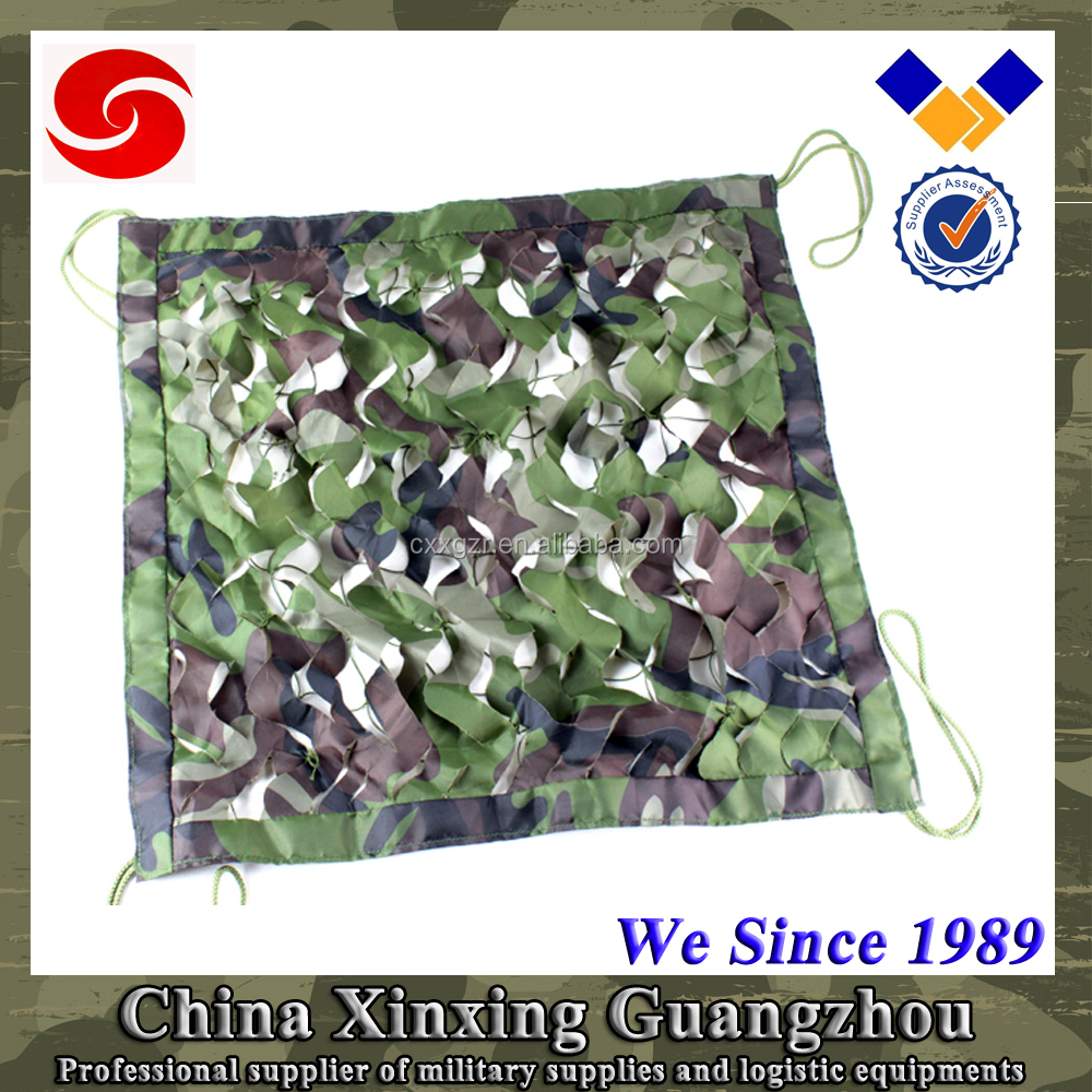 US multispectral anti-radar military hiking camouflage camping net