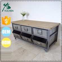 arabic style living room furniture industrial furniture recycle wood chest