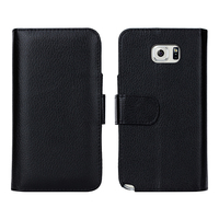 NT5002 OEM Wallet Phone Case for Samsung Galaxy Note 5 N9200 , Multifunctional Mobile Phone Wallet Case
