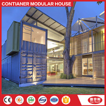 Magic Modular Housing fast assembling prefabricated luxury villa house/ container villa with legs on stilts
