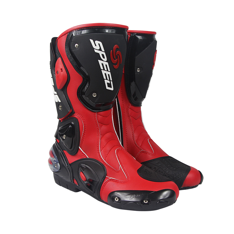 B1001 Fashion Motorcycle Motocross Racing Boots Sport Shoes Waterproof Men Shoes