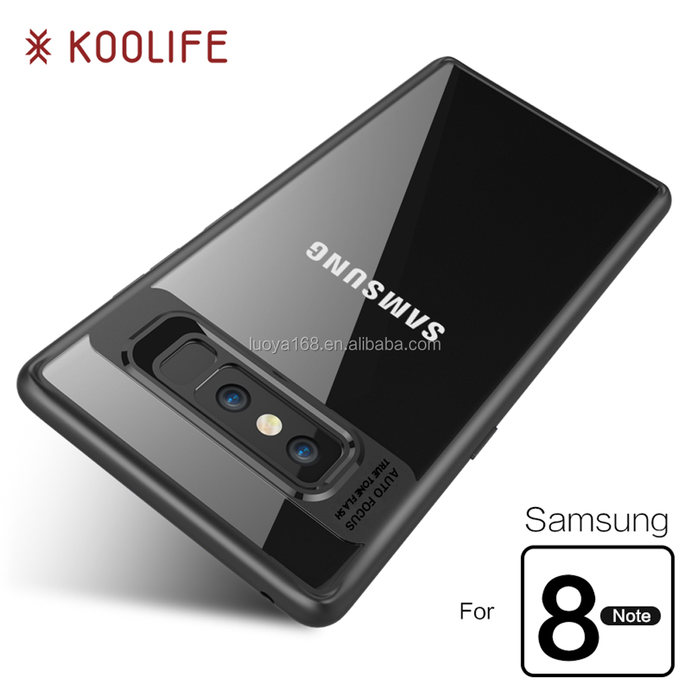 For Samsung Galaxy Note 8 case and Hard PC Clear Back Cover For Samsung Galaxy Note8 Cell Phone Case Koolife Hawkeye