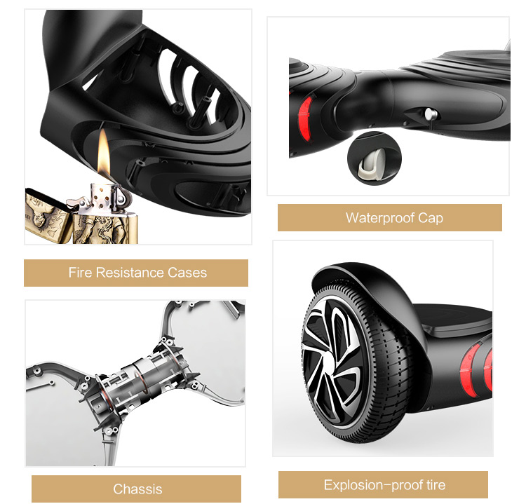 shenzhen 2 wheel 6.5 inch electric scooters scooter parts