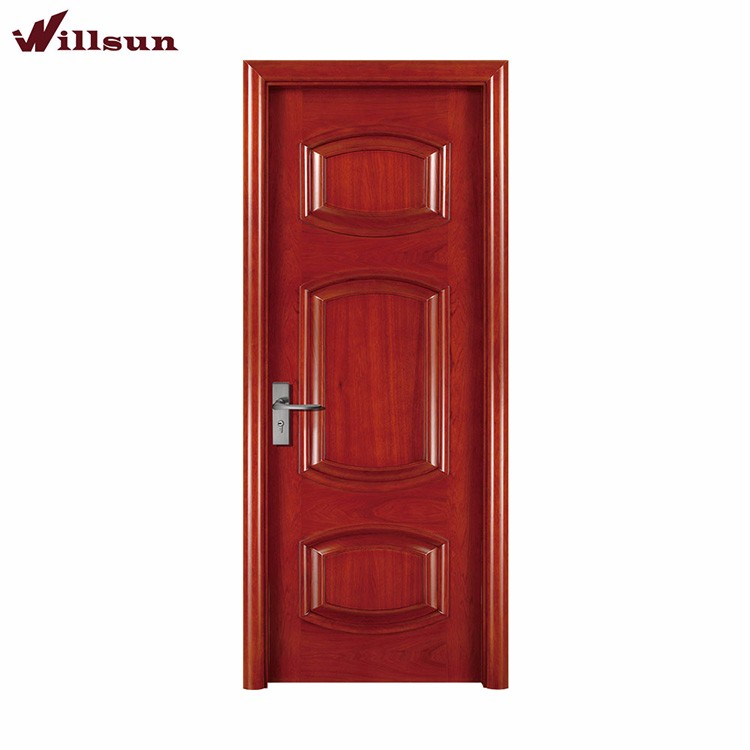 One hour fire rated american wooden doors single leaf size for 1 hr rated door