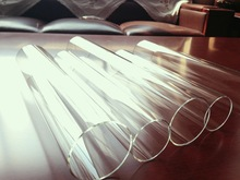 3.2mm 4mm 10mm tempered glass High Borosilicate tube glass for Explosion Proof Lighting cover
