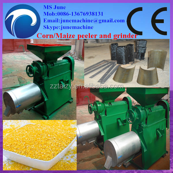 automatic <strong>Corn</strong> peeling and grinding machine with low price