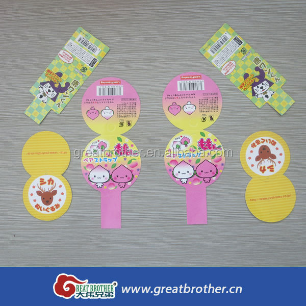 Different kinds of kids paper hang tag